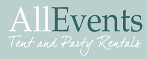 All Events tent and party rentals logo