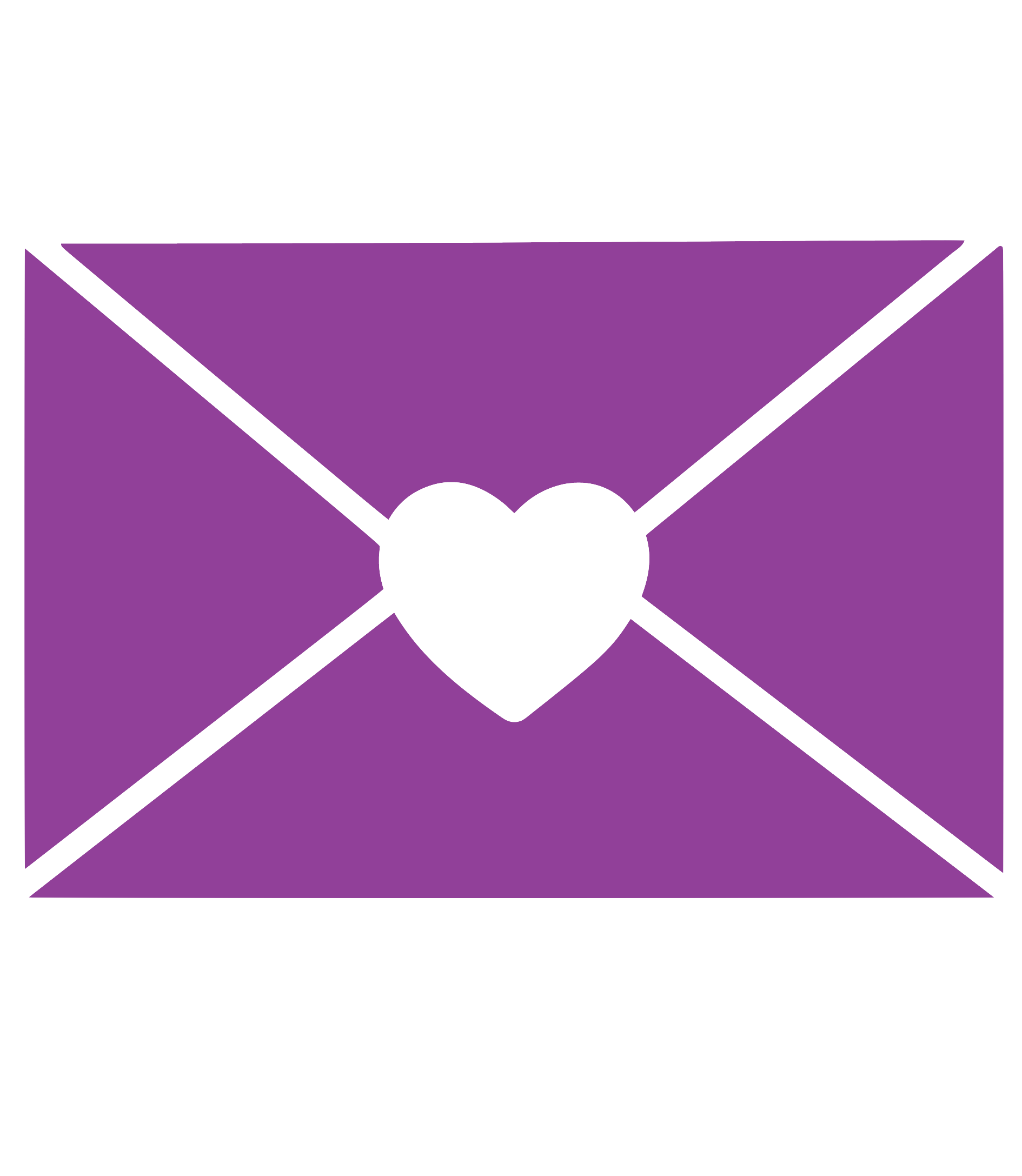 heart envelope icon