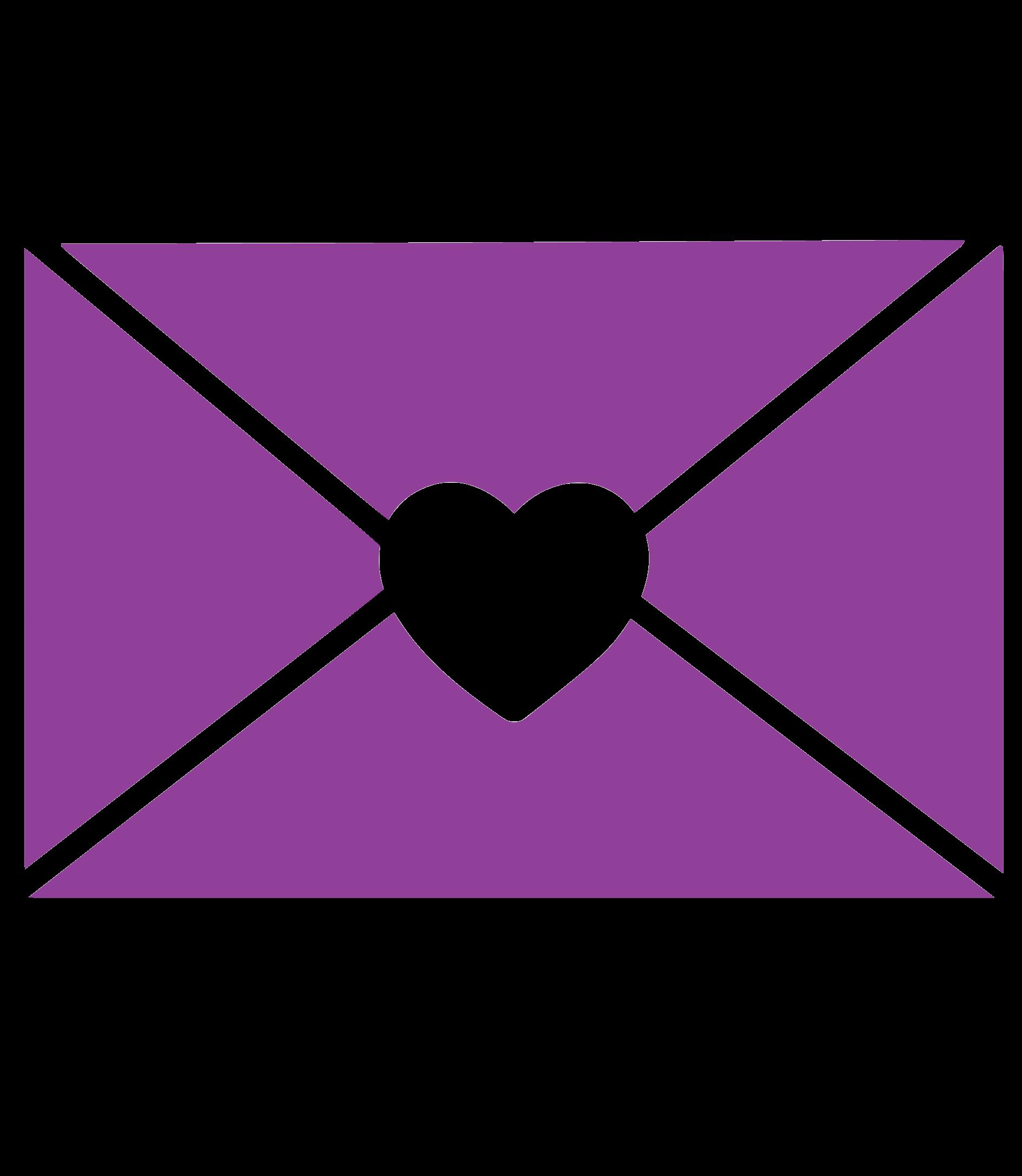 heart envelope icon