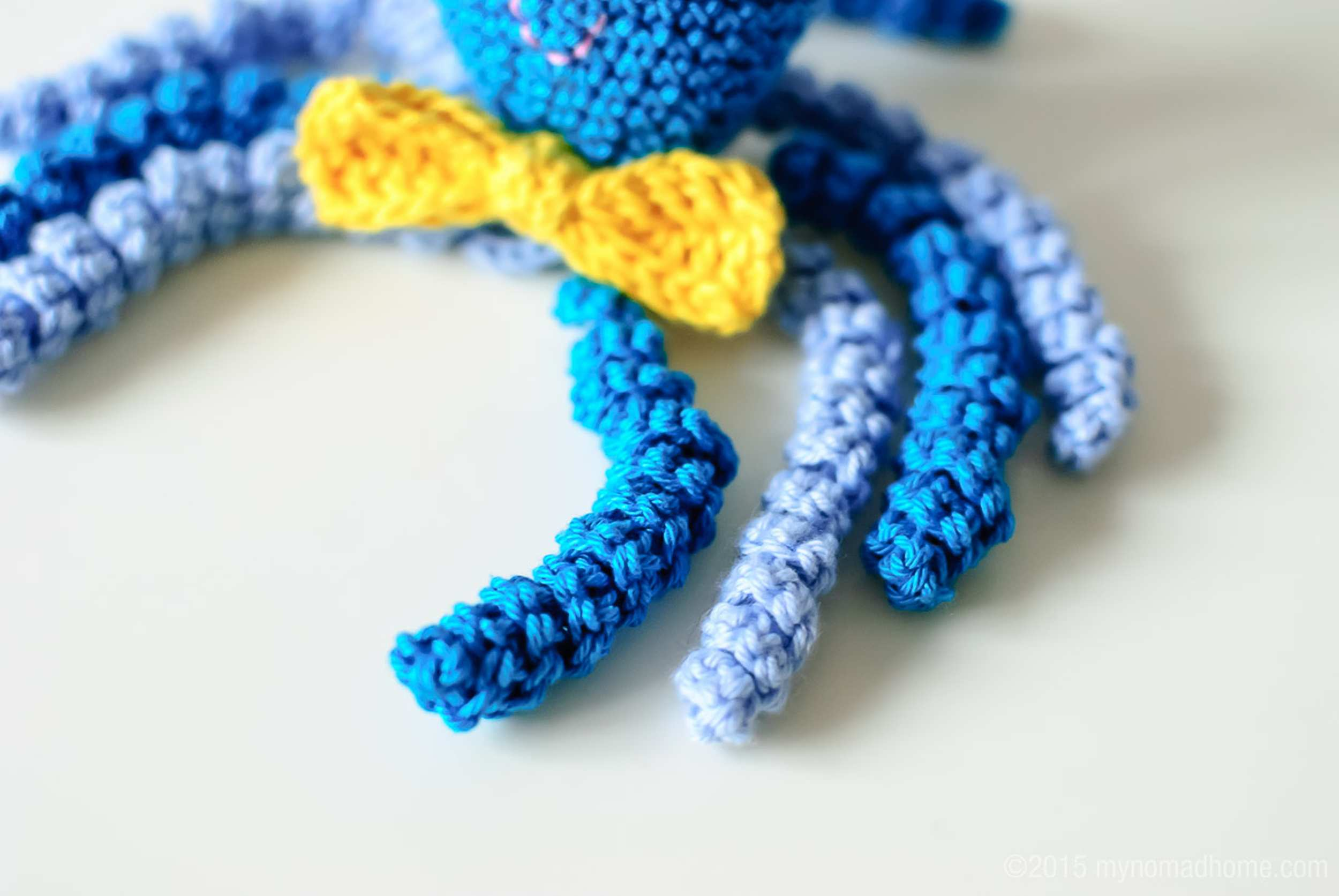 crochet octopus arms