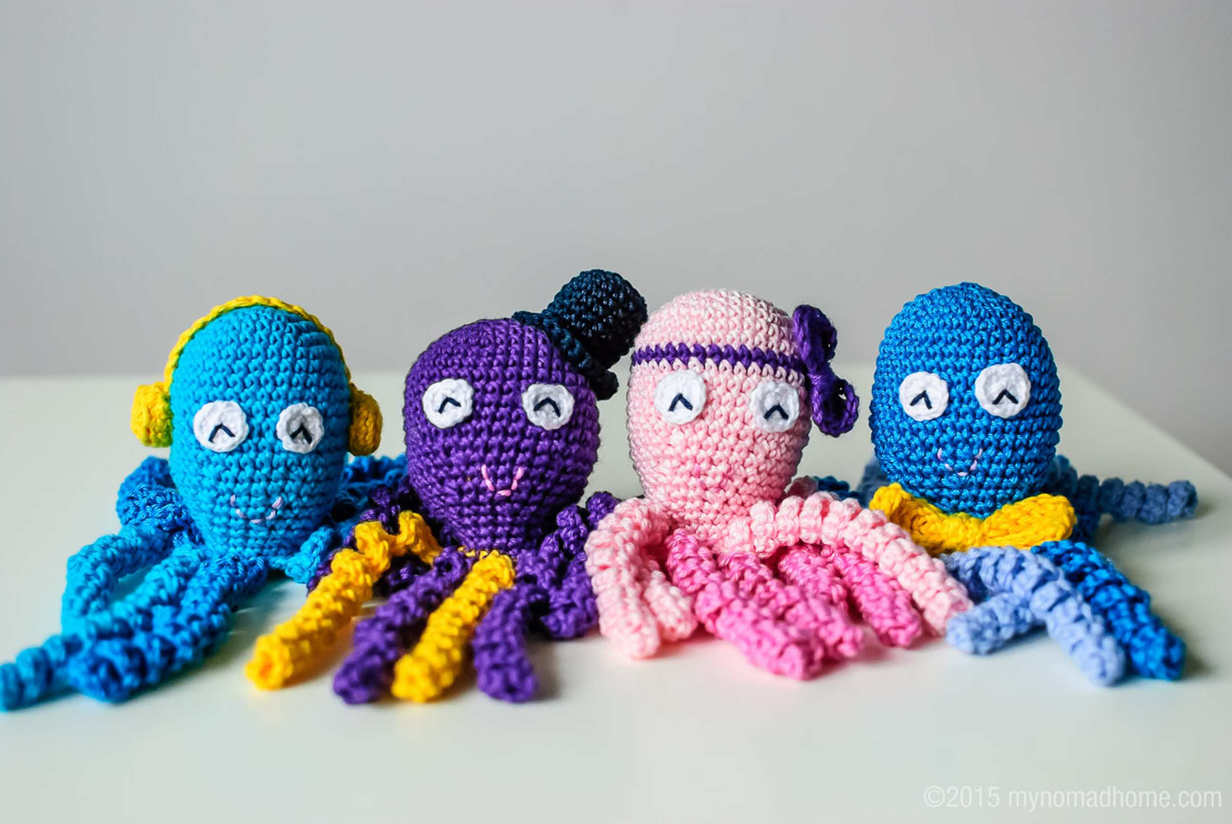crochet octopi