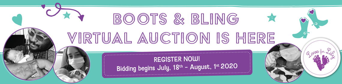 Boots and Bling Auction Banner