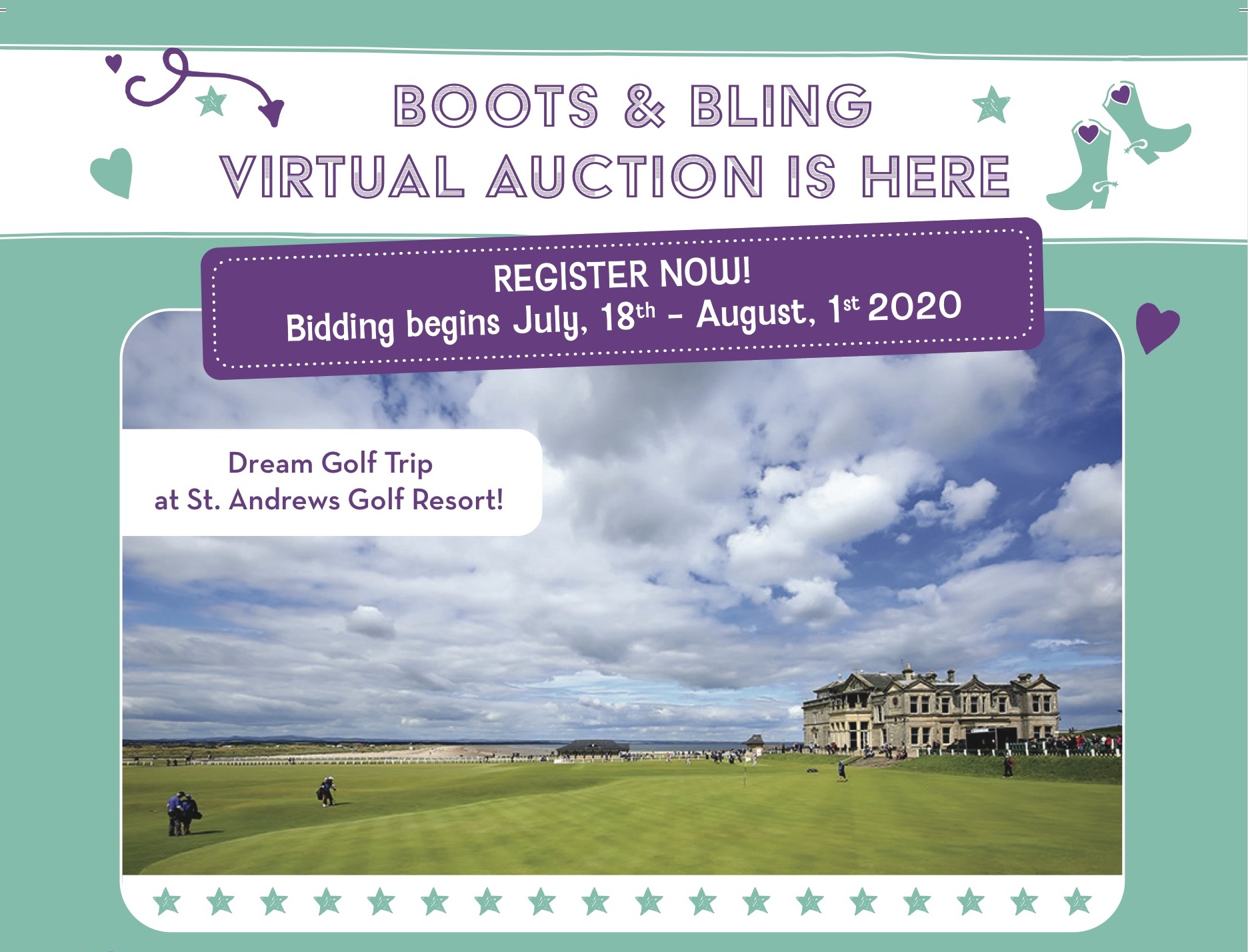 Boots & Bling Virtual Auction